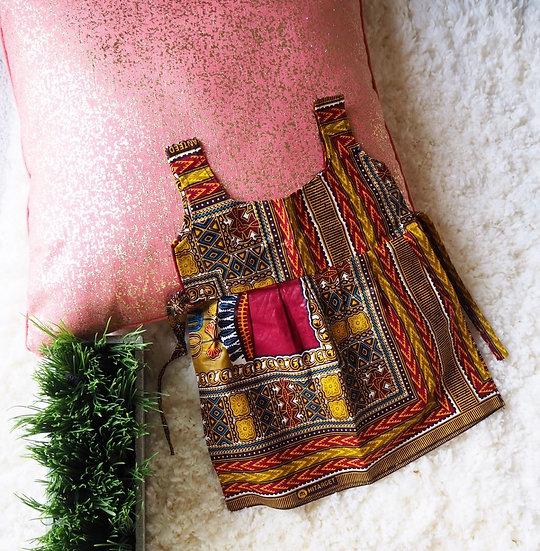 Infant Orange Dashiki Dress