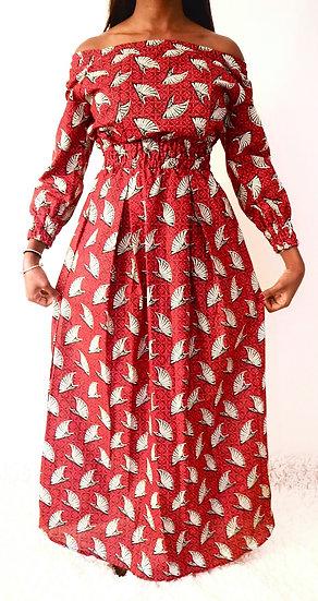 Fulani  Dress Red