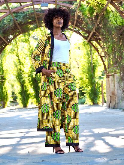 Kita Kimono Set Yellow