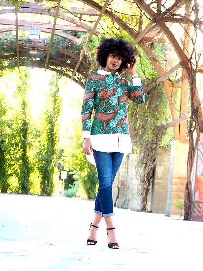 Ngonee Shirt Green