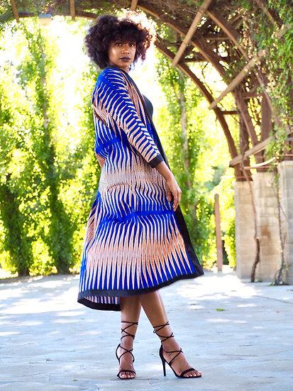 Kita Kimono Cardigan Blue