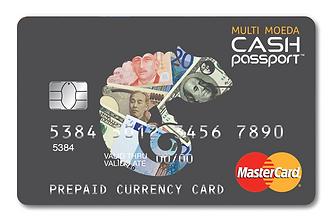 Cartão Cash Passport Trade Money