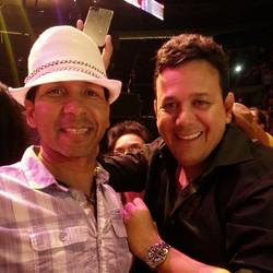 Con mi compadre Carlos Blum