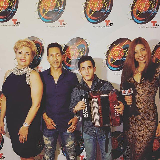 Presentacion _Rancho mateo _stlyestv en la apertura del nueva programa de TV para Telemundo 62
