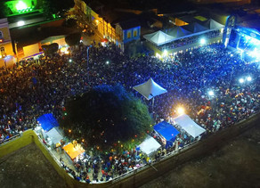 Leonardo marca 1ª noite de shows do Natal Triunfo