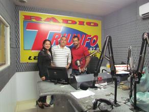 Rogério Mota do PTC em entrevista a Rádio Triunfo FM anuncia apoio a campanha do pré-candidato João