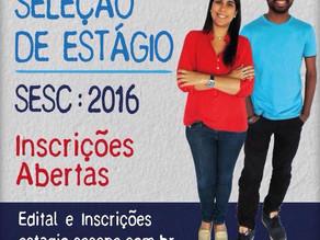 SESC abre inscrição para 32 vagas de estágio em PE, há vagas para Triunfo