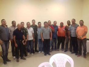 Secretário de Obras Everaldo Júnior participa de reunião sobre abastecimento de água na região
