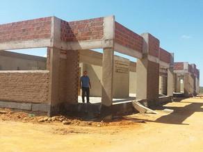 Obras da construção do Centro de Educação Infantil - Creche Pro Infância andam a todo vapor.