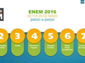 Inscrições do ENEM se encerram nesta sexta-feira dia 20 de maio.