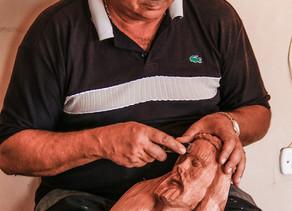 Projeto PIPA patrocina exposição sobre Arte Sacra de Chico Santeiro na zona rural de Triunfo