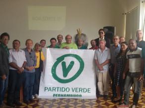 PV lança o seu pré-candidato a prefeito de Triunfo