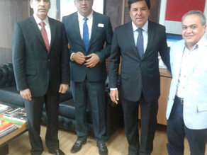 Em visita ao MEC, João Batista e Luciano Bonfim buscam recursos para a educação em Triunfo