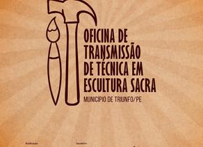 Chico Santeiro ministrará Oficina de Transmissão de Técnica em Escultura Sacra de em seu ateliê