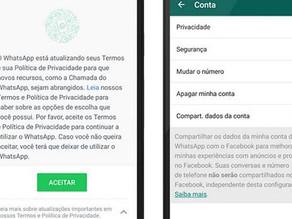Fique ligado: O Whatsapp enviará dados dos usuários para o Facebook