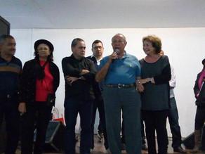 Prefeito recebe a XX Caravana da Saudade com Café Regional