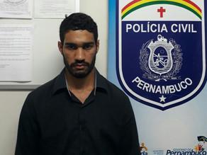 Preso acusado de assassinar moto-taxista em Triunfo