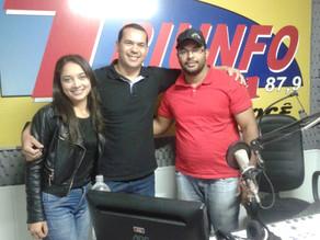"""Marcos Daniel diz: """"Nós temos um compromisso com Luciano"""", em entrevista a Rádio Triunfo FM"""