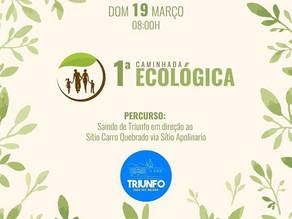 1ª Caminhada Ecológica - Por Nilton Madureira