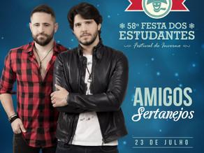Conheça as bandas que se apresentam hoje 23/07 na 58ª Festa dos Estudantes