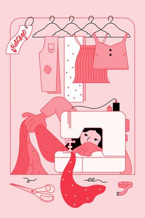 Aalto Effect Book / Book Illustration