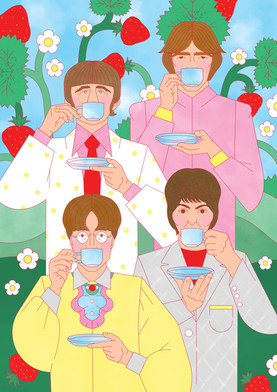 So Young Magazine / The Beatles