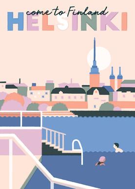 Come to Finland / Poster Design