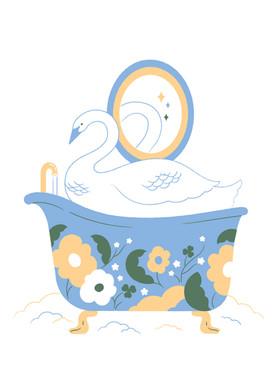 Personal work / Bath Time