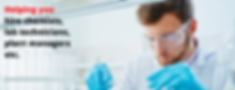 Helping you hire chemists, lab technicia
