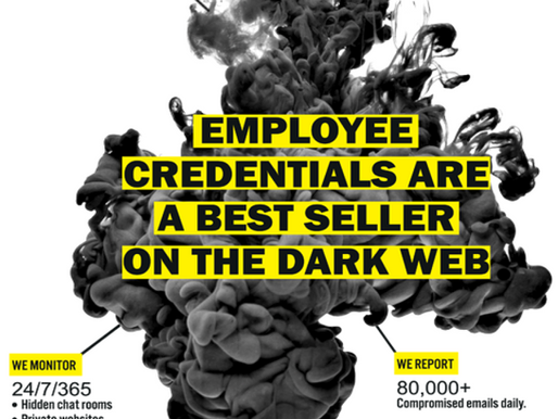 Are your company credentials for sale on the Dark Web?