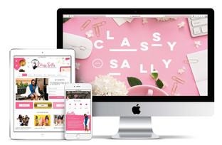 Classy Sally Website