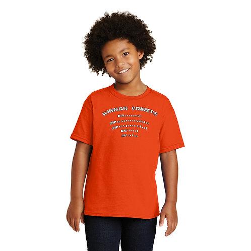 Kinnan 5000B Youth Gildan Heavy 100% Cotton T-Shirt