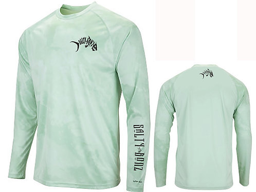 Salty Bonz Cabo Long Sleeve Moisture Wicking Tee-Available in 5 Color