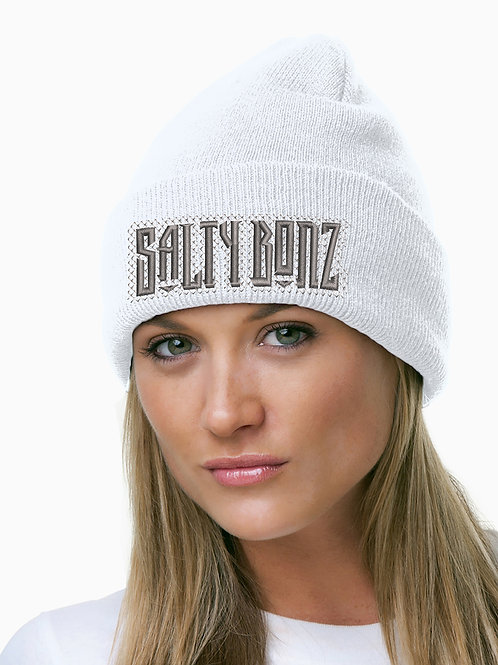 Salty Bonz 100% Acrylic Knit Cuff Beanie Perfect for Fishing & Outdoors.