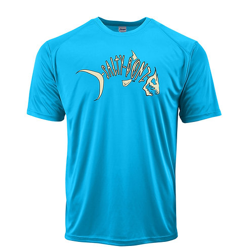 Salty Bonz Adult Performance Tee - Available in 7 Colors