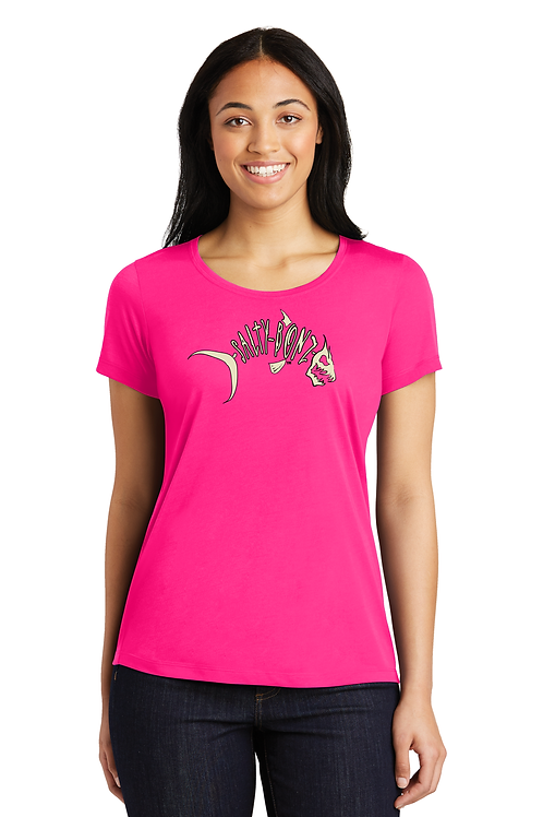 Ladies moisture-wicking Cotton Touch Logo Tee - Available in 8 Colors