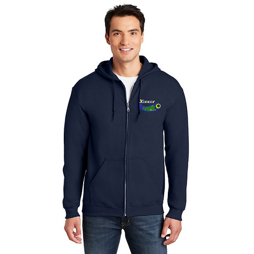 Kinnan G18600 Heavy Blend™ Full-Zip Hooded Sweatshirt
