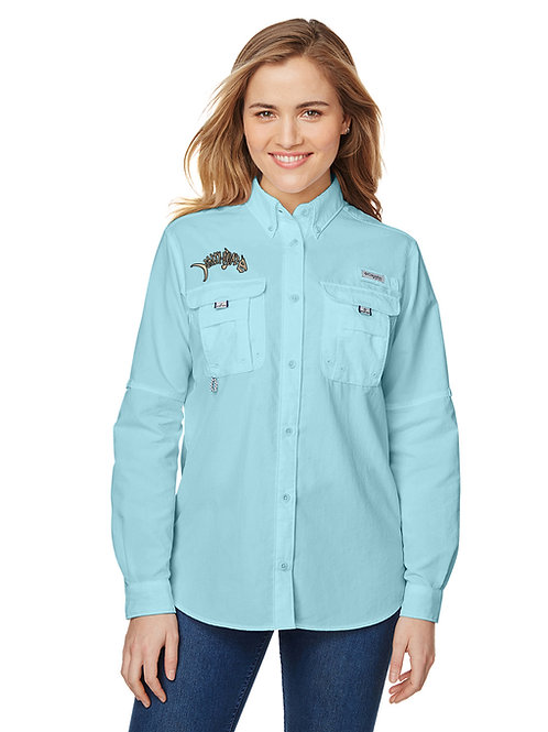 Salty Bonz Columbia Ladies' Bahama™ Long-Sleeve Shirt