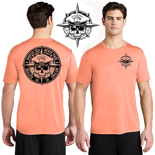 Salty Bonz Performance Smooth Seas Tee - Available in 7 Colors