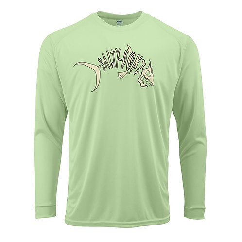 Salty Bonz Adult Long Sleeve Performance Tee - Available in 7 colors