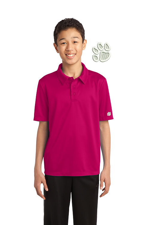 Y540 BCS Youth Silk Touch Performance Polo