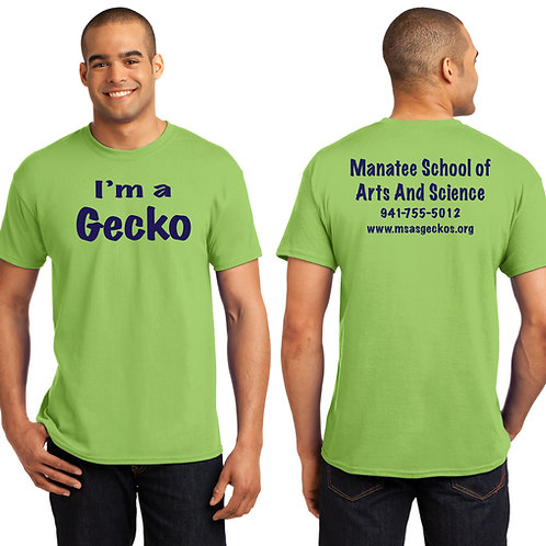 MAS Gecko-5000 Youth Gildan Heavy 100% Cotton T-Shirt