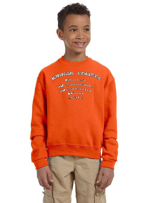 Kinnan 562B - Youth Heavy Blend™ Crewneck Sweatshirt