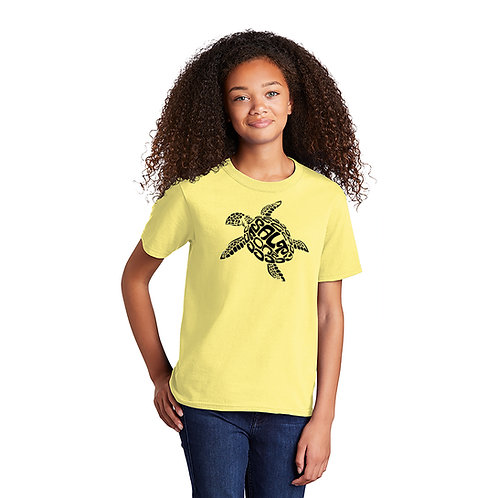 Salty Bonz Youth 100% Cotton Salty Turtle Tee - Available in 3 Colors