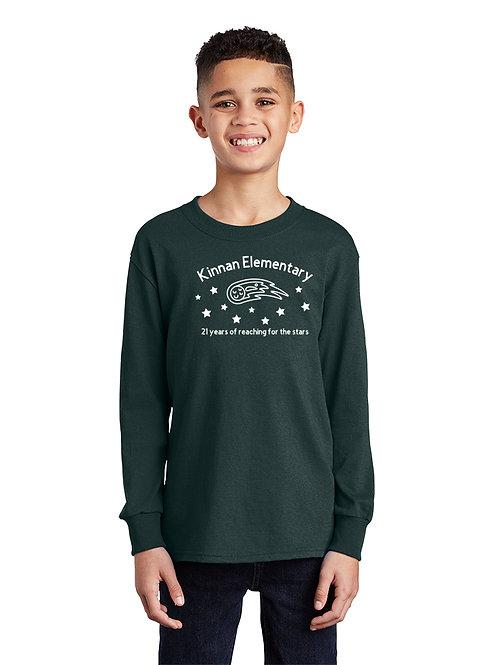 Kinnan PC54YLS 100% Cotton Long Sleeve T-Shirt