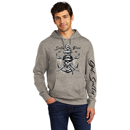 Salty Bonz Pirates Life Fleece Hoodie - Available in 4 Colors