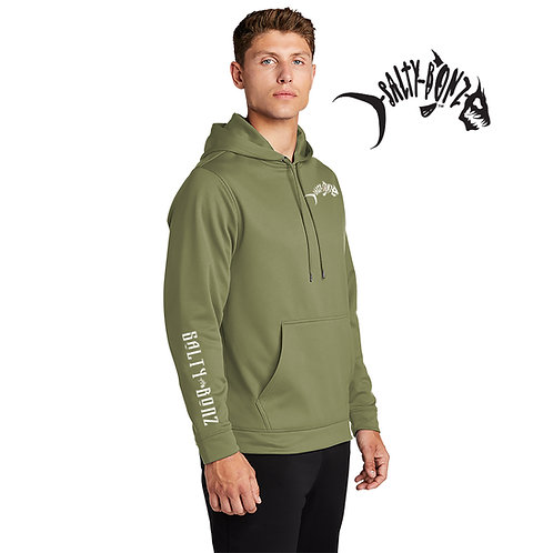 Salty Bonz Sport-Wicking Fleece Hooded Pullover - Available in 4 Colors