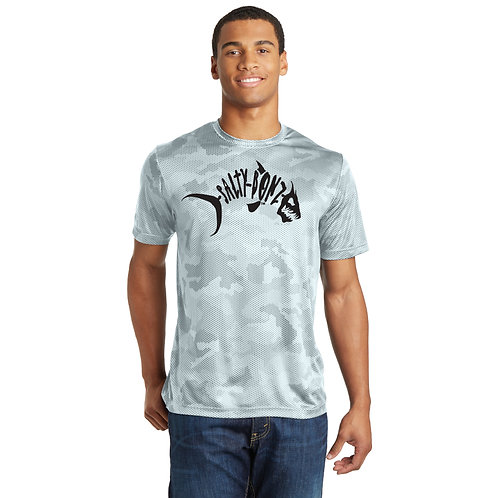 CamoHex Moisture Wicking Tee-Available in 4 Colors
