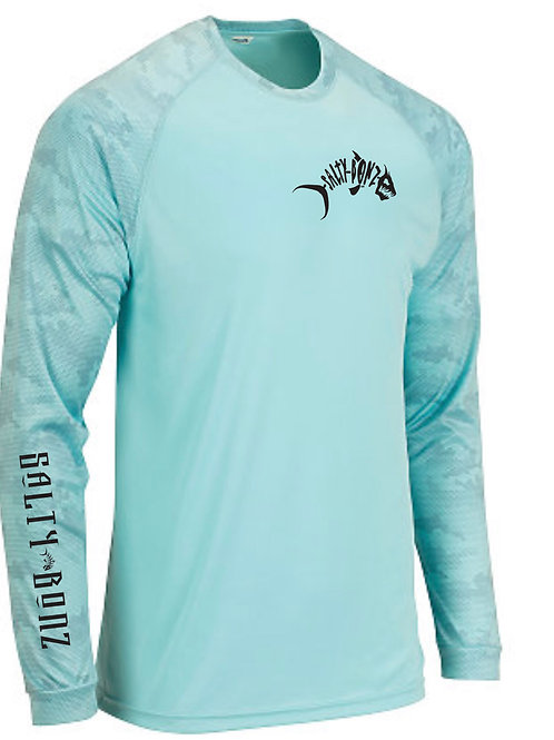 Cayman Long Sleeve Moisture Wicking Tee-Available in 8 Colors