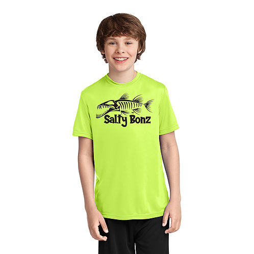 Salty Bonz Barracuda Youth Performance Tee - Available in 3 Colors
